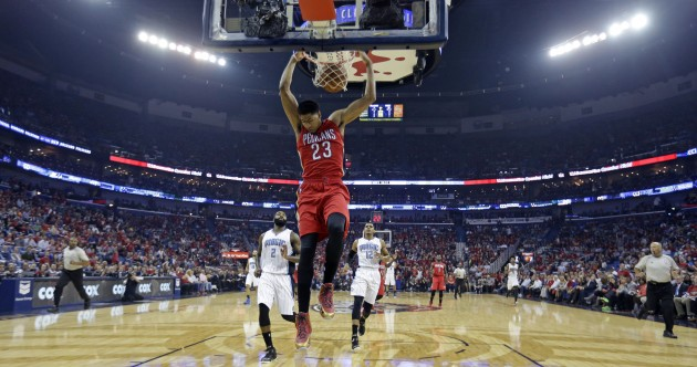 Anthony Davis tries to win NBA MVP on the very first night of the new season