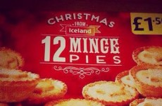 Iceland's Christmas 'minge pies' are going viral… but they're fake
