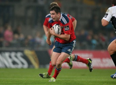 Jones captained Munster against Treviso in the Guinness Pro12 three weeks ago.