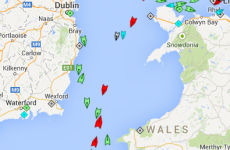Why are 8 NATO warships in the Irish Sea right now?
