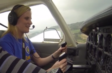 Scared of flying? What about piloting a plane blind?