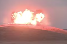Watch: US military obliterate Islamic State flag planted on Kobane hill