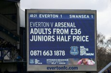 How much? The price a football fan must pay to follow their team