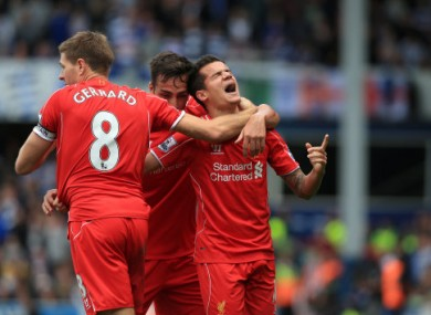 A Philippe Coutinho goal gave Liverpool a 2-1 lead in injury-time, but that was just the start of the madness.