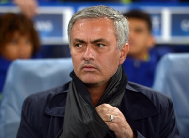 Jose Mourinho takes his unbeaten team to Old Trafford this Sunday.