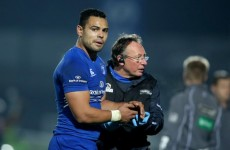 'I'm not a doctor but it doesn't look great' – Leinster suffer Te'o setback