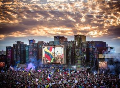 TomorrowWorld festival