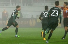 Celtic held in Romania after g