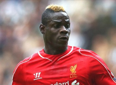 Mario Balotelli: has failed to impress at Anfield.