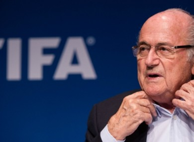 Sepp Blatter: 'I am not a lawyer'.