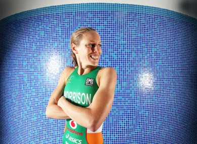 Not a beginner: Irish Olympic star Aileen Morrison.