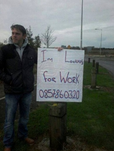 Remember the Balbriggan man who took a novel approach to job hunting? … We've some good news for you