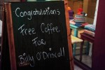 Baby Billy O'Driscoll is already getting some excellent perks around Dublin