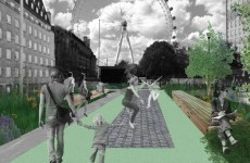 Londoners could soon be able to bounce to work on a huge trampoline