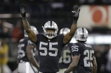 Just win maybe? The Raiders FINALLY won an NFL game last night