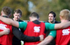 POC's influence remains as McCarthy and Foley fill Ireland's second row