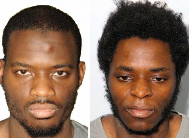 Lee Rigby's killers Michael Adebolajo (left) and Michael Adebowal.