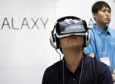 Samsung's Gear VR uses its Galaxy Note 4 phablet to deliver a VR experience and it's possible that Apple may do something similar.