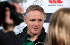 Joe Schmidt had his appendix removed after Ireland's win over Australia