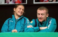 Katie Taylor floors Paddy Barnes with a Commonwealth Games zinger