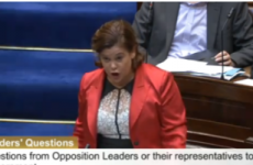 Would Sinn Féin, in power, 'walk out on themselves?' … Joan Burton's seriously asking