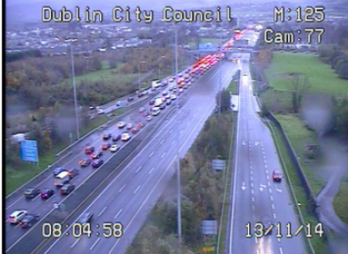 M1 Traffic Cameras >> Traffic is awful all around the country this morning · TheJournal.ie