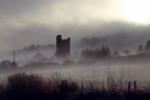 Glenquin castle in Limerick during last week's fog.