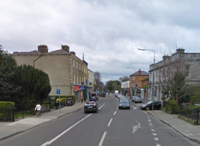 Rathgar village where the robbery took place.