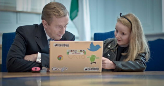 This 10-year-old has been teaching Enda a thing or two…