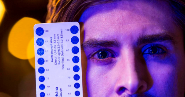 Ever had your pupils measured? … Suspected drug-drivers face new tests, from tonight