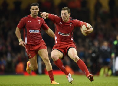 George North finished off a nice move for Wales early on.
