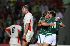 Ireland v Georgia: A history in pictures