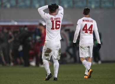 Roma suffered a disappointing result against CSKA on Tuesday.