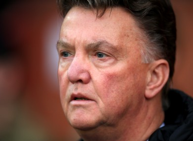 Van Gaal recently suggested it would take him three years to rebuild United.
