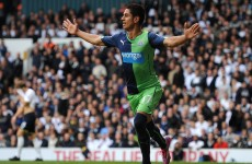 Ayoze Perez brilliantly flicked Newcastle into the lead against West Brom