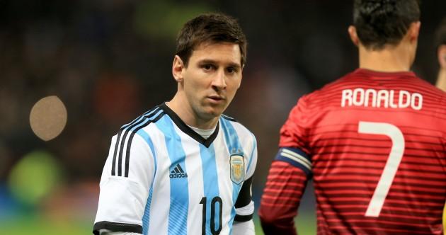 Ronaldo's showdown with Messi proves damp squib