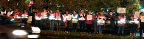Another female-only vigil by water protesters… this time in Tallaght