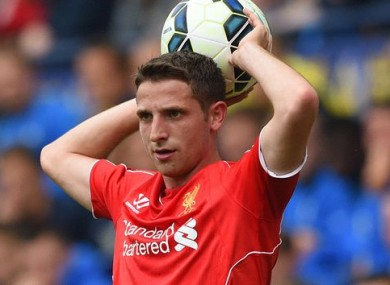 Joe Allen is looking on the bright side after Liverpool's Champions League exit.