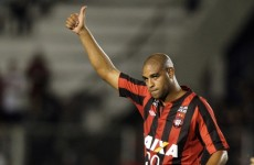 Remember Adriano? Well, he's back and will be playing in the French second tier