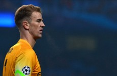 Joe Hart to sign €152,000 a week Man City deal