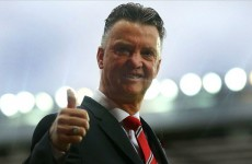 Louis van Gaal: My wife is happy so I am happy!