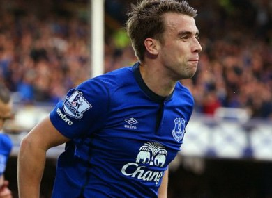 Coleman has been one of Everton's standout players in 2014.