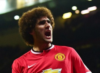 Fellaini is vital to Manchester United at the moment.