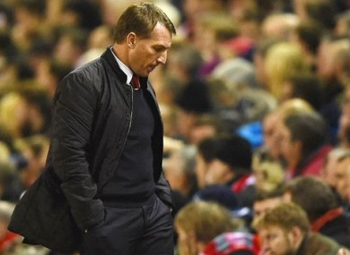Rodgers' side looked short on inspiration at times last night.
