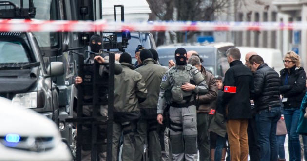 Three gunmen in Belgian siege 'taken outside with their hands in the air'