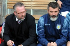 'There was absolutely no bust-up' – Lambert speaks out about Keane departure