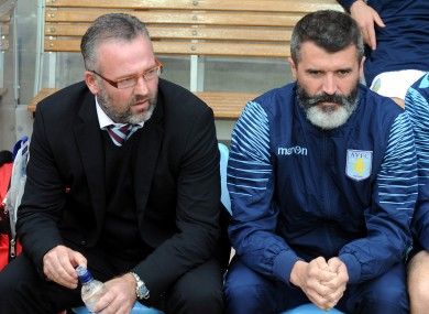 Lambert and Keane have parted ways.