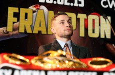 'This is my time, my title and my city!' Here are the details of Carl Frampton's first title defence