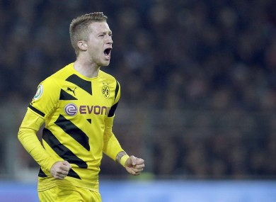 Reus is currently sidelined through injury.