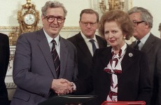 The secret note that revealed how much Margaret Thatcher trusted Garret Fitzgerald